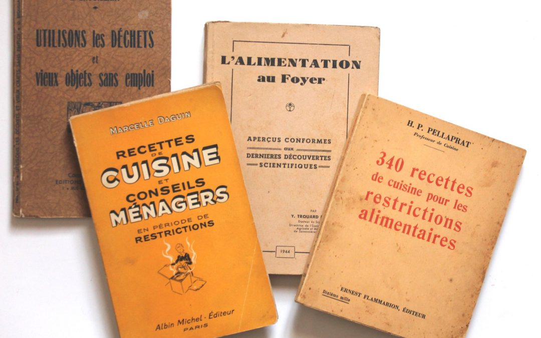Food rationing in La Manche during the war