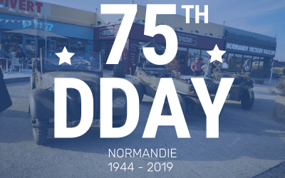 75th anniversary of the Landing at the museum, retrospective 2019