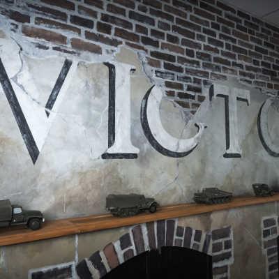 A10 canteen pres du normandy victory museum