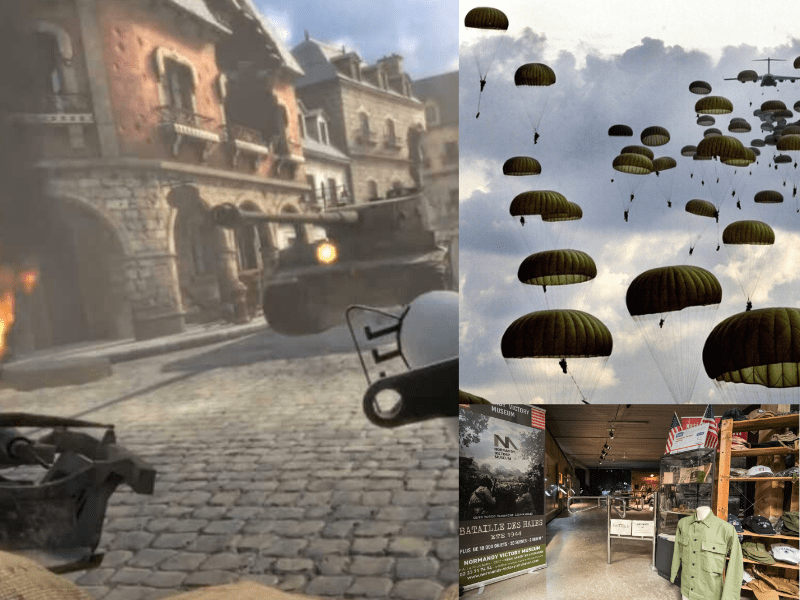 Virtual Reality Experience in Carentan