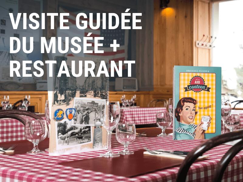 Visite guidée du musée + restaurant manche