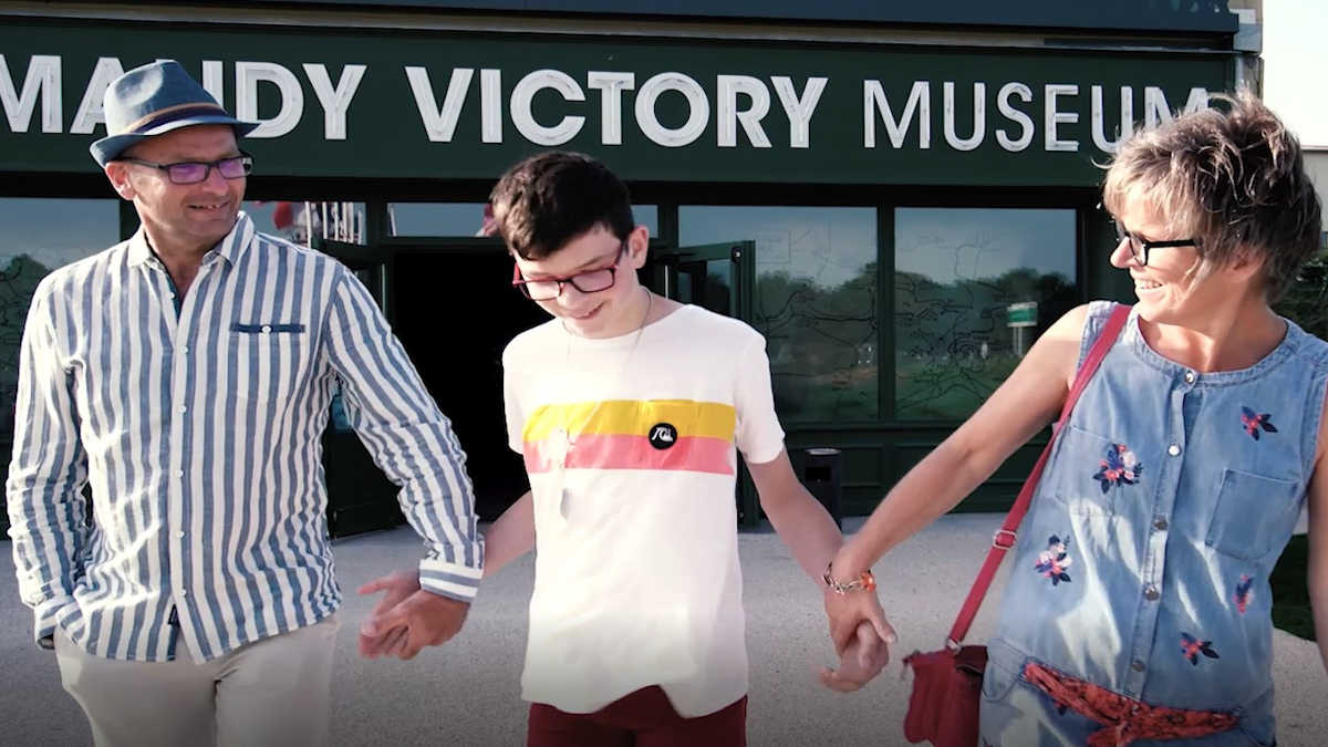 Visit the Normandy Victory Museum with family or friends