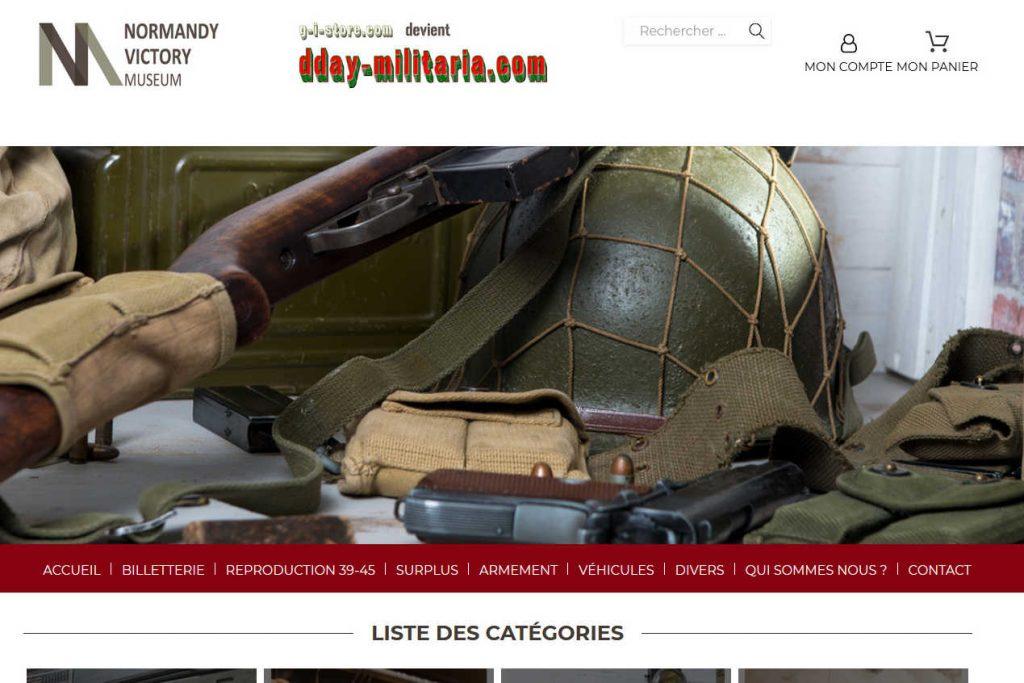 boutique en ligne gi store dday militaria