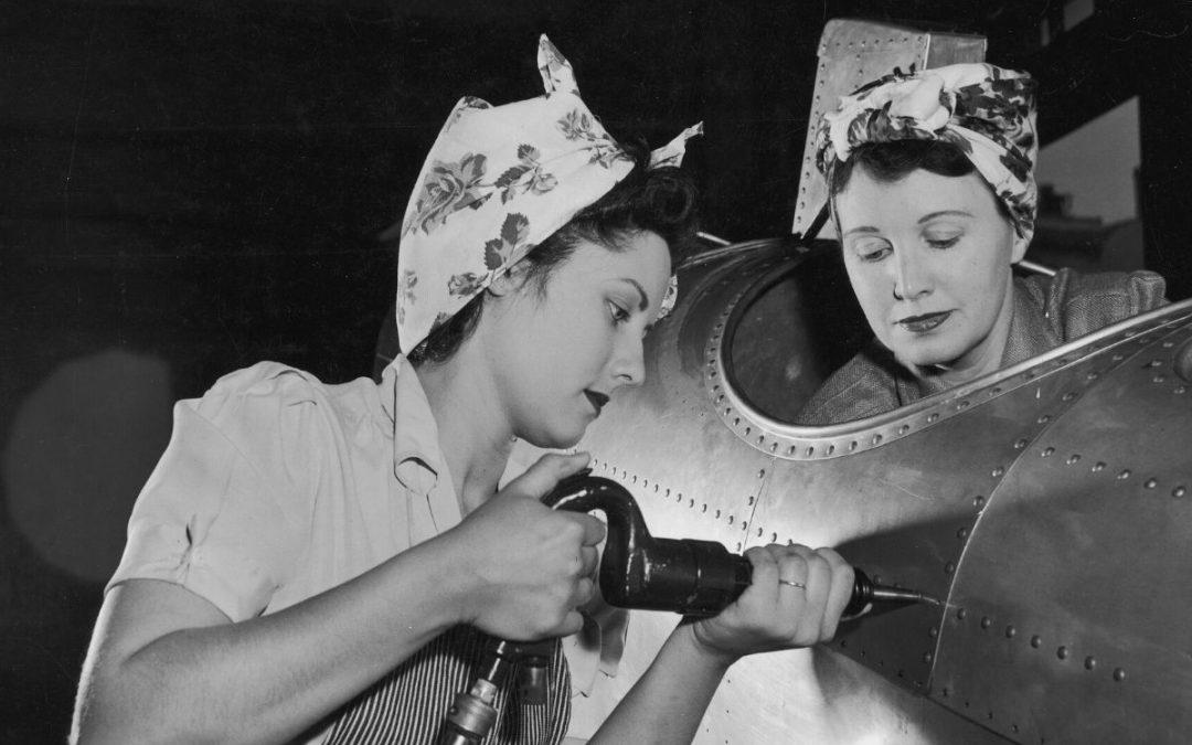 Femmes dans la guerre photo Harold Lambert
