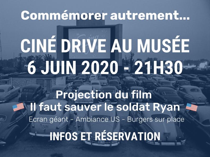 cine drive au musée 6 juin 2020