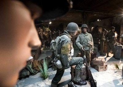 Scène du musée Normandy Victory Museum