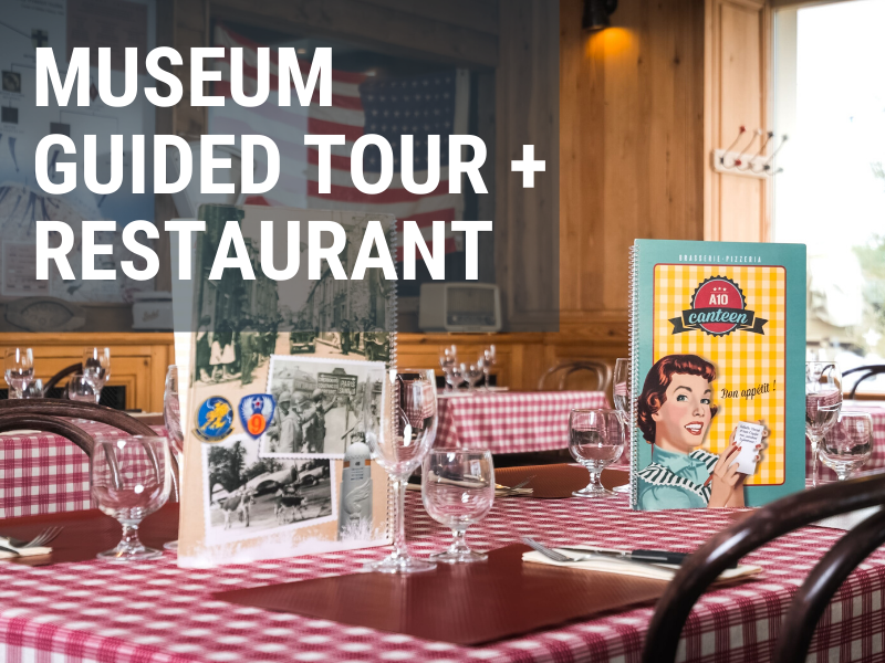 Guided tour of the museum + restaurant in La Manche