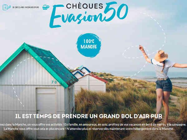 Bon plan cheques evasion 50 cheques cotentin