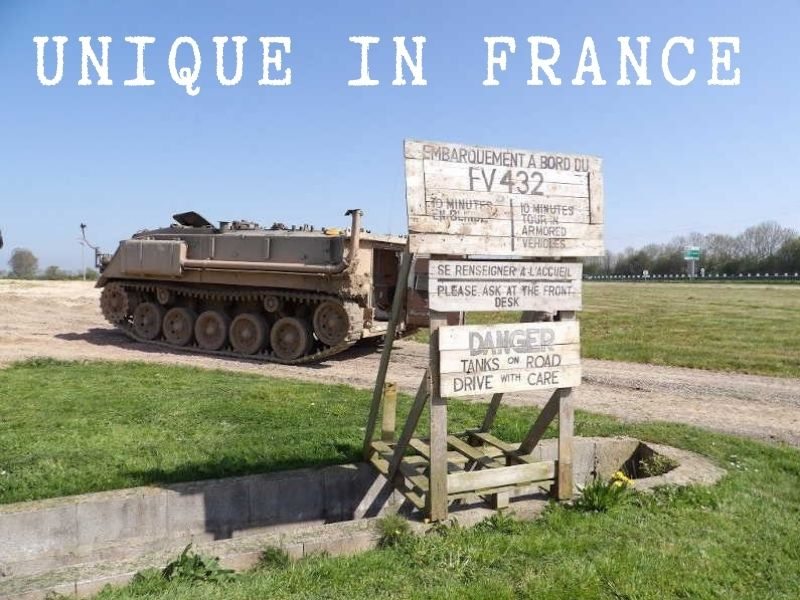 Tour in armored vehicle unique in France