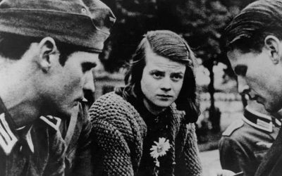 "Sophie Scholl and the ""White Rose"", a female symbol of German resistance"
