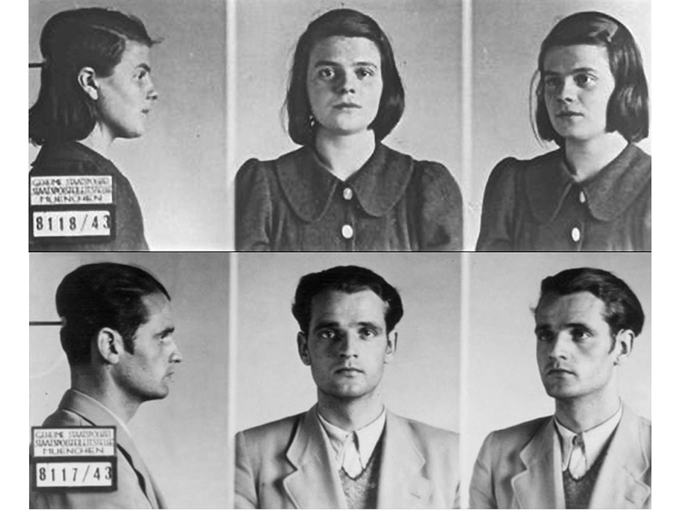 Sophie and Hans Scholl Images taken by the Gestapo - German Federal Archives