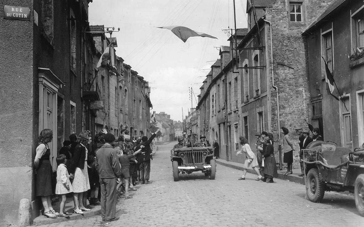 Liberation of the city of Carentan