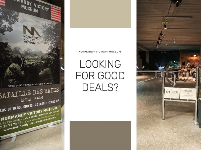 Discover the good deals from the museum and save money!