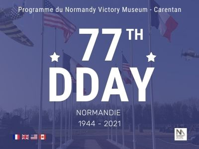 77TH DDAY program at the Normandy Victory Museum in Carentan