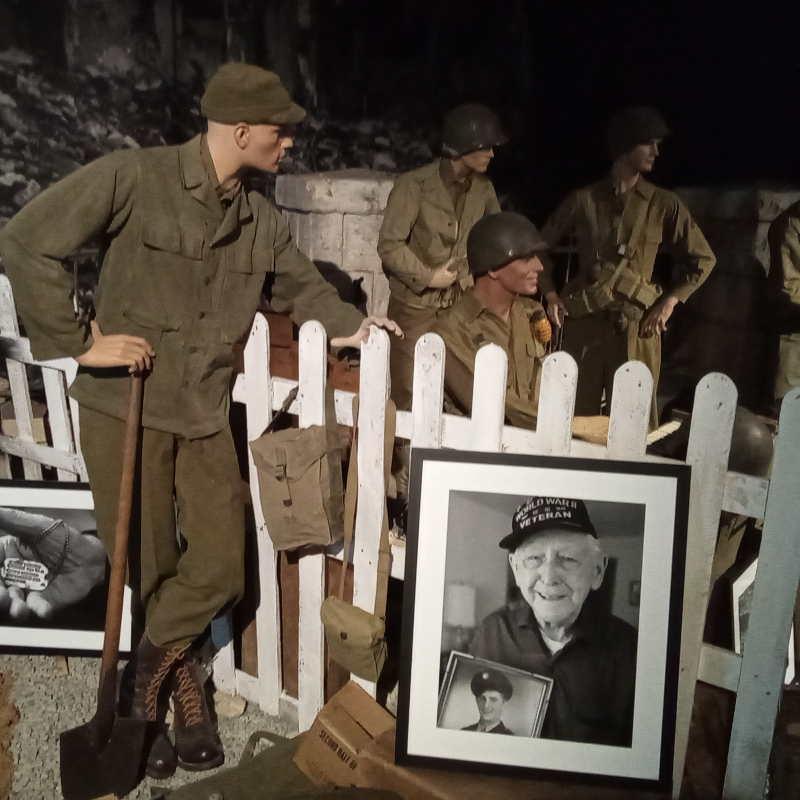 Normandy Victory Museum portraits de vétérans