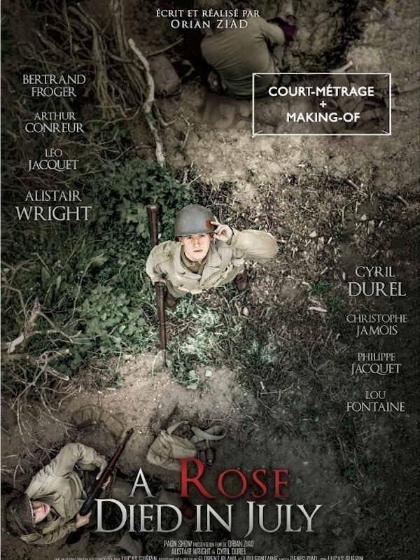 Film d'Orian Ziad, A Rose Died in July