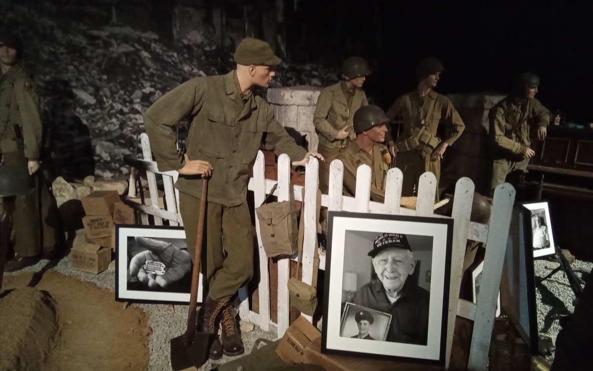 Portraits de vétérans Florent Plana