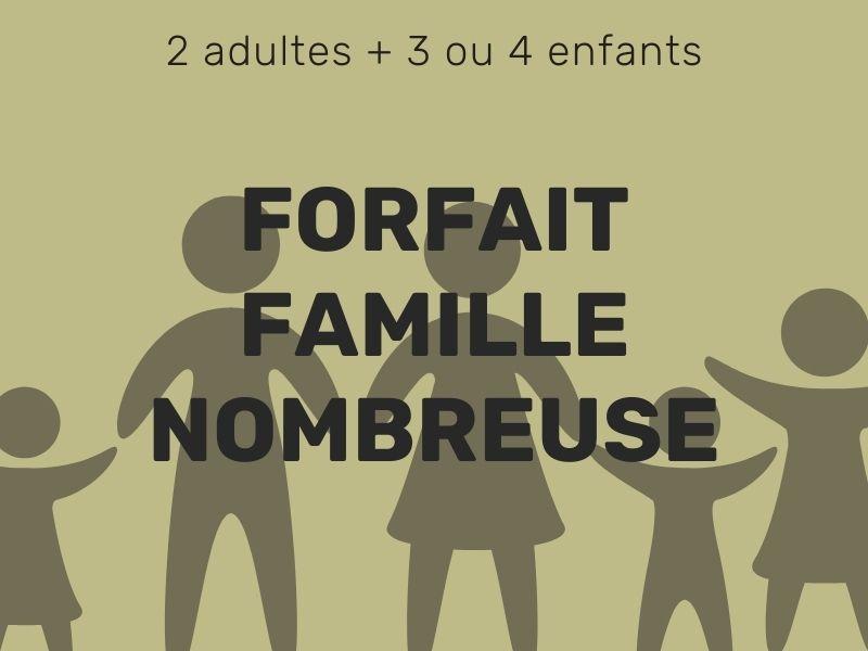 Forfait famille nombreuse