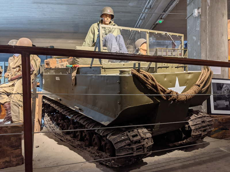 The Weasel M29, a WWII all-terrain vehicle
