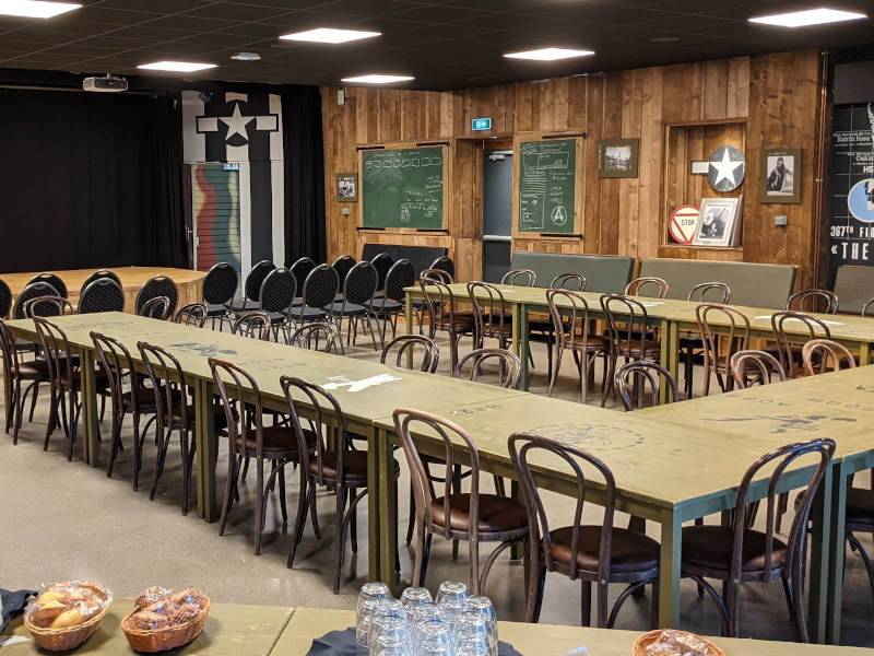 Salle pour repas de groupes